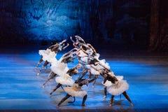 Nussknacker-Ballett lizenzfreies stockbild