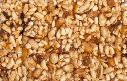 Nut. Texture from nut and dry fruit Stock Photo
