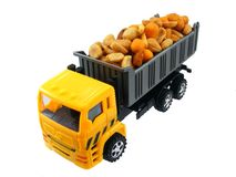 Nut Assortment on a Lorry Stock Photo