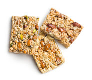 Nut bar royalty free stock images
