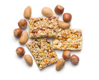 Nut bar Royalty Free Stock Image