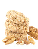 Nut biscuits Royalty Free Stock Photos