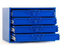Nut, Bolt, and Small Hardware Organizer Stock Photo