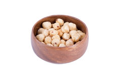 Nut in Bowl Stock Photo