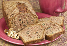 Nut bread Stock Photography