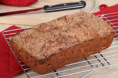 Nut Bread Loaf Royalty Free Stock Photography