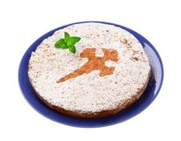 Nut cake Stock Images