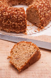 Nut cake Royalty Free Stock Photo