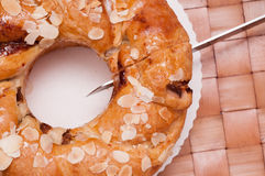Nut cake Stock Photography