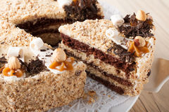 Nut cake Stock Photo