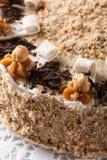 Nut cake Royalty Free Stock Photos