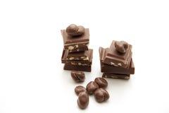 Nut chocolate Stock Photo
