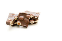 Nut chocolate Royalty Free Stock Images
