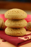 Nut cookies Royalty Free Stock Photos