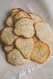 Nut cookies Royalty Free Stock Images