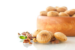Nut cookies Royalty Free Stock Image