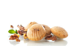 Nut cookies Stock Image