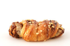 Nut-croissant Royalty Free Stock Images