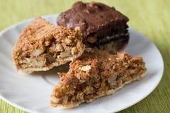 Nut desserts Stock Image