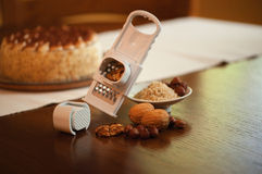 Nut grater Stock Photography