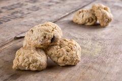 Nut homemade cookies Stock Photo