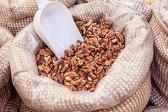 Nut kernel bulk Stock Image