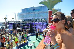 Nut-Kreuzfahrt Miami 2014 Stockfoto