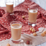 Nut liqueur Royalty Free Stock Photography