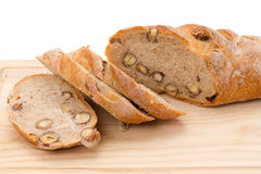 Nut loaf Royalty Free Stock Photos