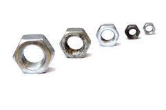 Nut mechanikal Royalty Free Stock Photo