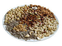Nut mix Stock Image