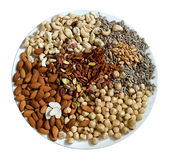 Nut mix Stock Images