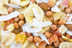 Nut mix close Royalty Free Stock Images