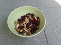 Nut mix Stock Photography