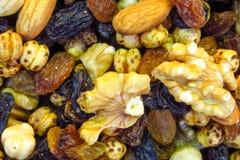 Nut mix pattern Royalty Free Stock Photography