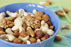 Nut mixture Royalty Free Stock Images