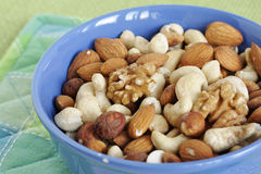 Nut mixture Royalty Free Stock Photo