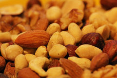 Nut mixture Royalty Free Stock Image