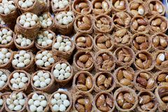 Nut Pastries Royalty Free Stock Image
