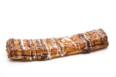 Nut pastry with chocolate Royalty Free Stock Photography