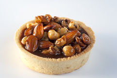 Nut pie Stock Photography