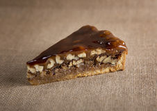 Nut pie Royalty Free Stock Photography