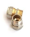 Nut plumbing Stock Image