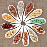 Nut Sampler Stock Images