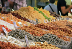 Nut & Seed Stall Stock Images