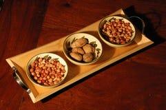 nut selection Stock Photo
