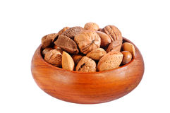 Nut Selection Royalty Free Stock Images