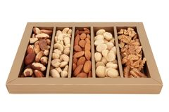 Nut Selection Stock Images