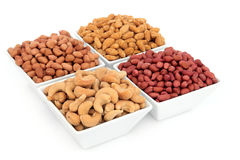 Nut Selection Royalty Free Stock Image