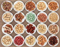 Nut Selection Stock Photography